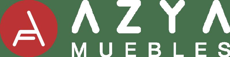 logotipo blanco de AZYA MUEBLES