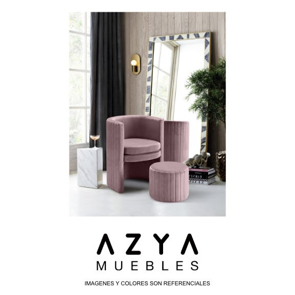 Butaca Zoe, disponible en AZYA MUEBLES