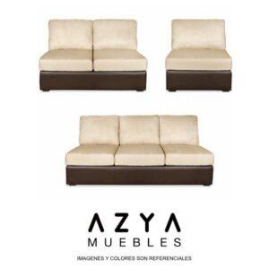 Juego de sala África, disponible en AZYA MUEBLES