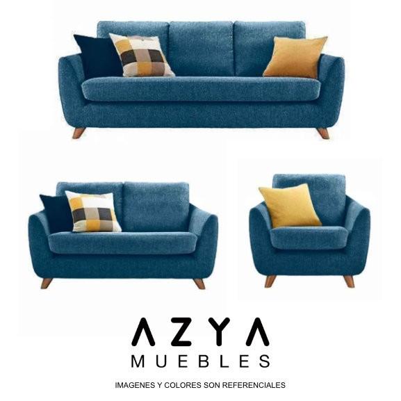 Juego de sala Nyza, disponible en AZYA MUEBLES