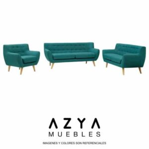 Juego de Sala Vintage, disponible en AZYA Muebles online