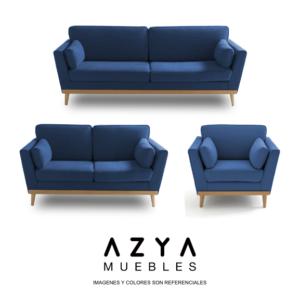 Juego de Sala 3-2-1 Marsella, disponible en AZYA Muebles